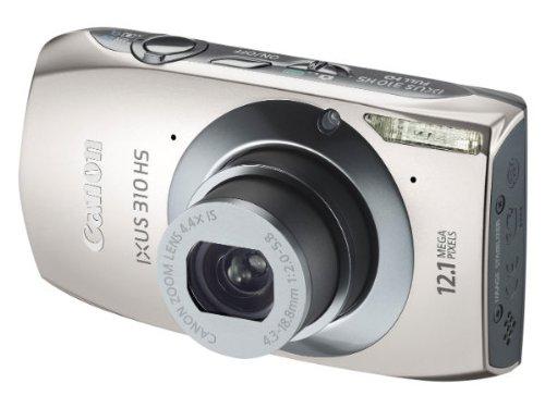 Canon Ixus 310 HS Fotocamera Digitale 12.1 MP, Silver