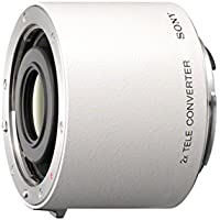 Sony SAL20TC - Teleconvertidor para objetivos de cámaras Sony (2x), blanco