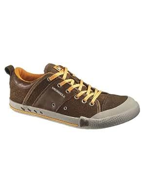 Merrell Rant Whip Sneaker Dark Earth, Brown, 40