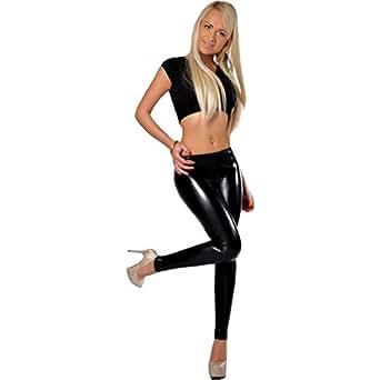 06fceea144a SA Fashions Elegant Ladies American Celeb Girls Disco Dance PVC Wet ...