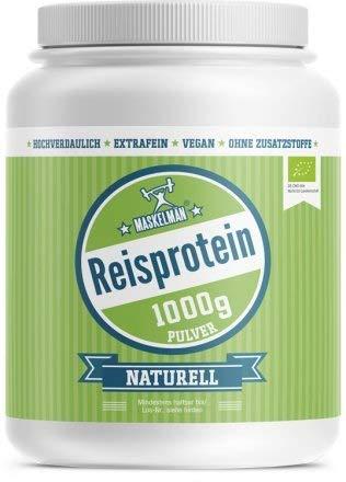 Bio Reisprotein (1000g) | Eiweißpulver | Veganes...