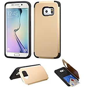 MyBat Carrying Case for SAMSUNG G925 (Galaxy S6 Edge) - Retail Packaging - Gold