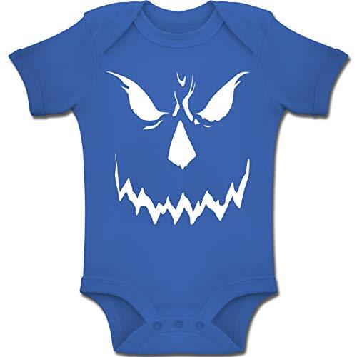 Shirtracer Anlässe Baby - Scary Smile Halloween Kostüm - 12-18 Monate - Royalblau - BZ10 - Baby Body Kurzarm Jungen Mädchen (Halloween-kostüm Beste Freundin)