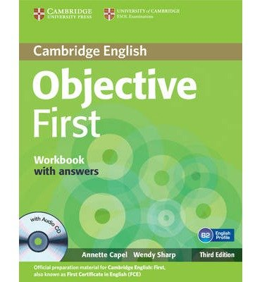 Objective First Workbook with Answers with Audio CD (Objective) (Mixed media product) - Common