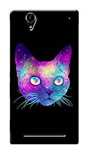 Marklif Premium Printed Cool Case Mobile Cover for Sony Xperia T2 Ultra