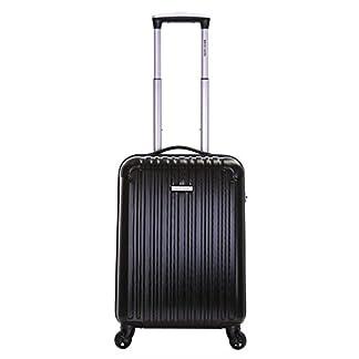Pierre Cardin Orbis 55cm 4-ruedas maleta de cabina dura, Negro