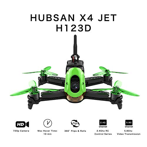 Hubsan H123D X4 Jet Racer Brushless Drone...
