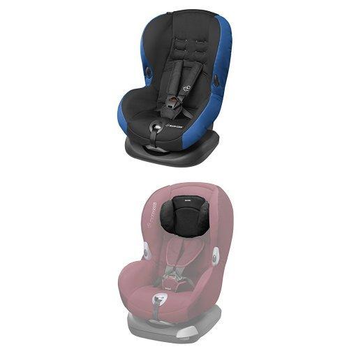 Maxi-Cosi Priori SPS Plus Kindersitz mit optimalem Seitenaufprallschutz und 4 Sitz- und Ruhepositionen, Gruppe 1, navy black
