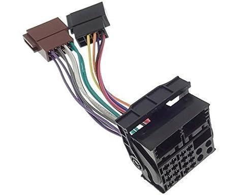 Anschlusskabel Radio BMW VW DB OPEL FORD NAVI Quadlock ISO Kabel Adapter Stecker