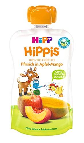 Preisvergleich Produktbild HiPP Pfirsich in Apfel-Mango - Bennie Bock,  6er Pack (6 x 100 g)