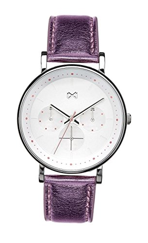 Mark Maddox Women's Analogue Quartz Watch with Leather Strap MC0101-17