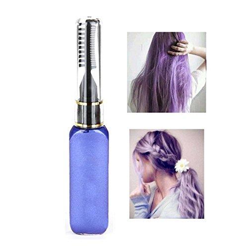 Molie Haar-Mascara, in Weiß, professionelle Haarfarbe, temporäre Haarfarbe (Dunkel Blaue Mascara)