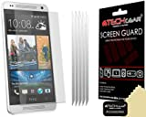Techgear Clear LCD Screen Protector for HTC One Mini (Pack of 5)
