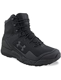 Under Armour - Botas para hombre, Negro (Black/Black), 46 EU (11 UK)