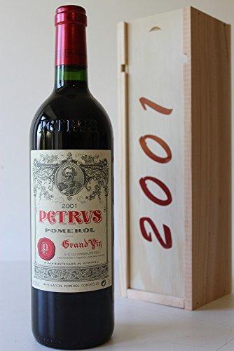 Coffret Petrus 2001 Rouge 75cl AOC Pomerol