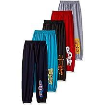 ESNINO Boys' Regular Fit Trackpant (Pack of 5)