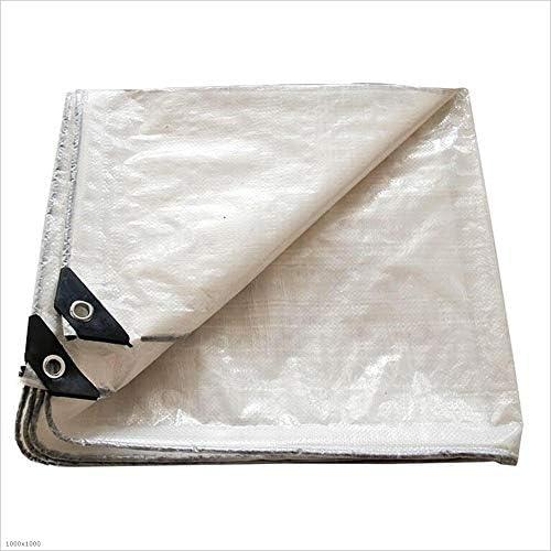 Tarpaulin Tela impermeabilizzante in tela impermeabile da 0,3 mm 120 120 120 g   m2 della tela incatramata del (Coloreee   Bianca, dimensioni   2mx3m) | Materiali Di Alta Qualità  | Sale Online  4ef71a