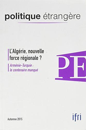 Politique Étrangère 3/2015 l'Algérie - Auto...