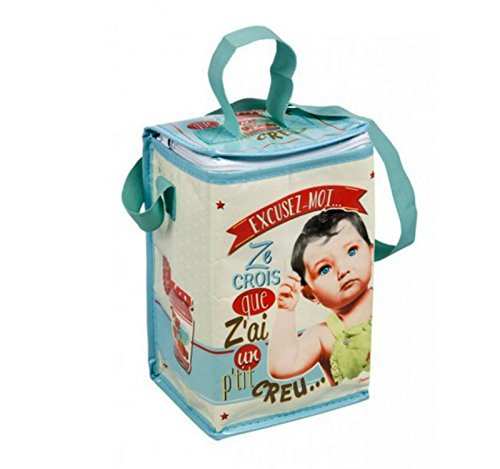 Onogal borsa isotermica per shape bebe bottiglia design vintage paris 410810 7084<br>