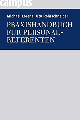 Praxishandbuch für Personalreferenten