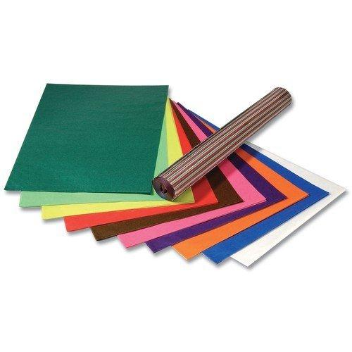 Folia Transparentpapier (Drachenpapier) 42g/m², 50x70cm, 100 Bogen gerollt, farbig sortiert