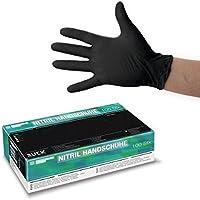 RUCK Nitril-Einmalhandschuhe schwarz Gr. M - 100 Stück pro Packung preisvergleich bei billige-tabletten.eu