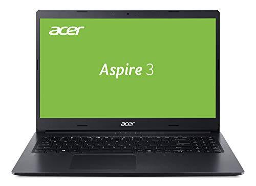 Acer Aspire 3 (A315-55G-517D) 39,6 cm (15,6 Zoll Full-HD matt) Multimedia Notebook (Intel Core i5-10210U, 8 GB RAM, 512 GB PCIe SSD, NVIDIA GeForce MX230, Win 10 Home) schwarz