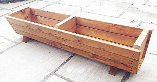 120cm-large-wooden-trough-planter-by-ruddings-wood