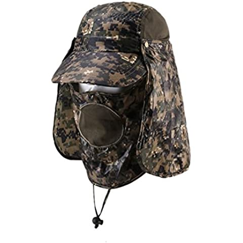 Outdoor sun protection Hat Camo jungle cappelli all'aperto fisherman Hat