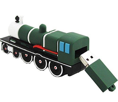 qingsun 16g 16GB Cartoon Zug Form USB Flash Drive USB 2.0Flash Disk Pen Drive Memory Stick Pen Drive Jump Drive (16 G Drive Jump)