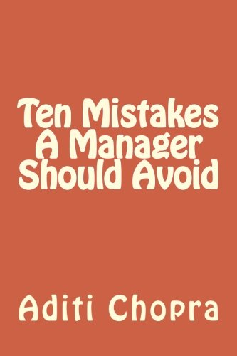 free kindle book Ten Mistakes A Manager Should Avoid