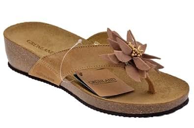Grunland Nina Flip Flops New Size 38 Ladies Shoes