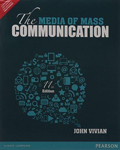 Media Of Mass Communication 11/ed par Vivian
