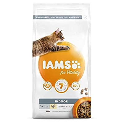 Iams for Vitality Cat Food for Indoor Cats with Fresh Chicken by IAMS
