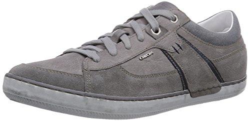 Geox U BOX C, Sneakers basses homme Gris - Grau (GREYC1006)