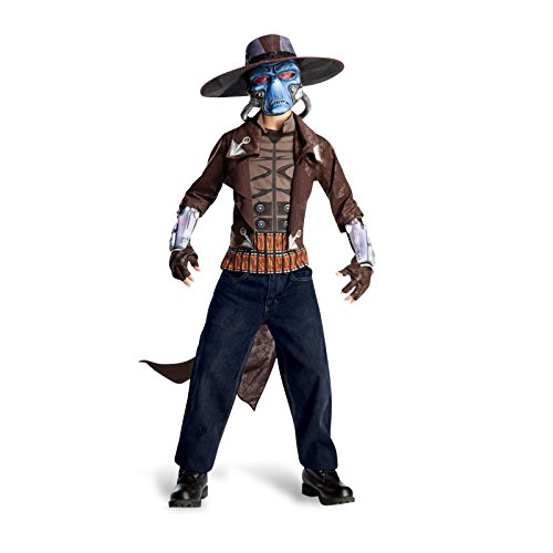 Star Wars - Cad Bane Kinderkostüm, 4-teilig, Science Fiction Karneval Kostüm - L
