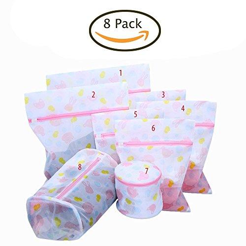 eklead-set-di-8-sacchetti-per-bucato-in-retina-perfetta-per-proteggere-reggiseni-in-lavatrice-e-asci