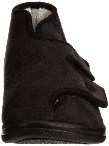 Rohde 3556, Unisex - Erwachsene Hausschuhe Schwarz (Black)