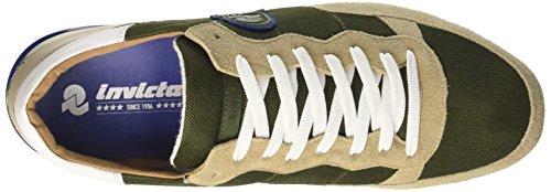 Invicta Unisex-Erwachsene Bicolor Low-Top Verde (Militare)