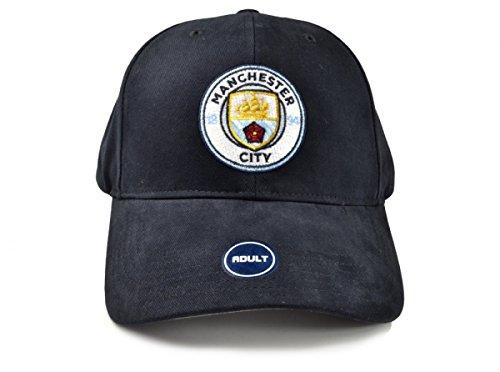 Manchester City FC de fútbol gorra de béisbol azul marino 3d oficial de