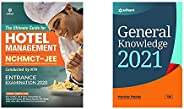 Guide for Hotel Management 2021+General Knowledge 2021 (Set of 2 Books)(New Edition)