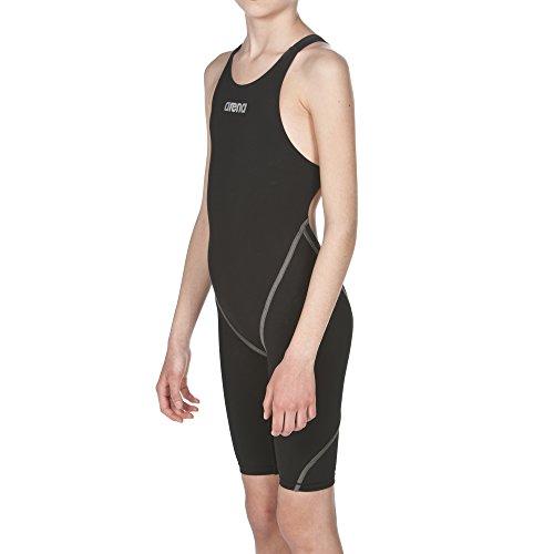 arena Mädchen Powerskin ST 2.0 Offener Rücken Schwimm-Wettkampfanzug, Black, 140