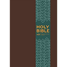NIV Pocket Brown Imitation Leather Bible (New International Version)