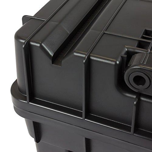 HD Compact 1 Werkzeugkoffer Box Toolbox Werkzeugkiste 450x350x350 Alugriff schwarz - 8