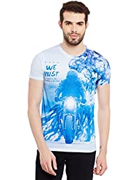 Wear Your Mind Multicolour Polyester Printed Tshirt For Men CST137.2