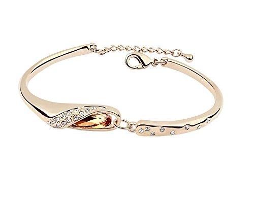ufengker-dames-cristal-bracelets-de-mode-faites-avec-cristal-autrichien-plaque-or-champagne-diametre