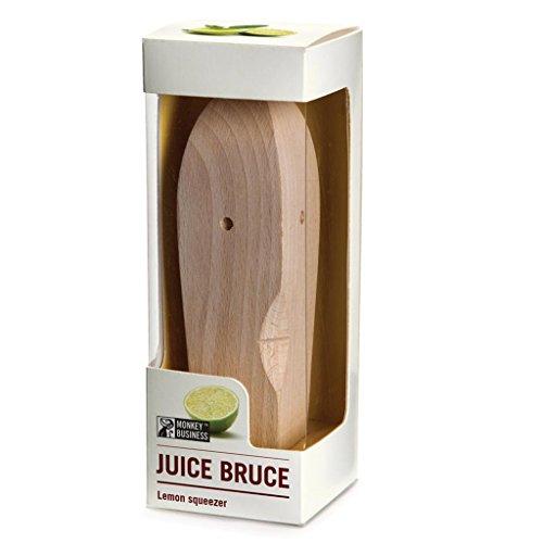Monkey Business Saft Bruce Zitruspresse, Holz, 14x 3,5x 3,5cm - 9