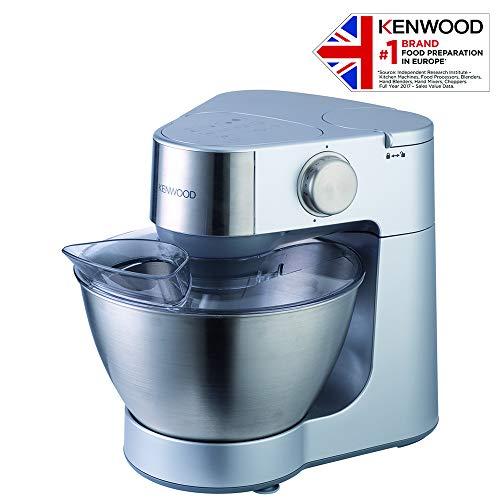 Kenwood KM287 Robot de cocina, 900 W, acero inoxidable, plástico, color plata