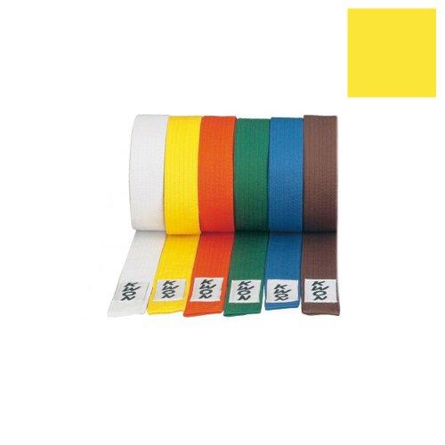 Kwon Kampfsportgürtel, versch. Farben gelb 300 cm