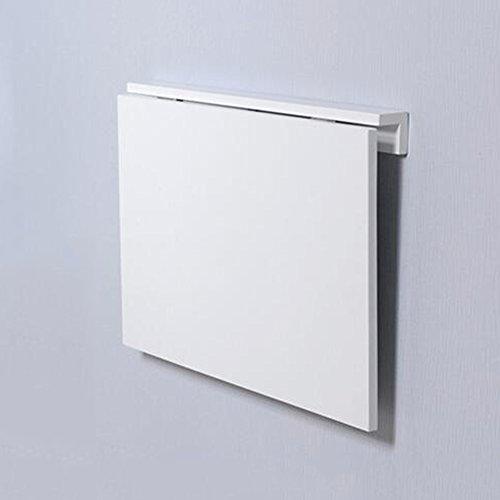 Schreibtische HAIZHEN Wand-Klapptisch, Klappküche & Esstisch, Kindertisch, 60 * 40cm Klapptisch (Farbe : Weiß) (Wand-schreibtisch)